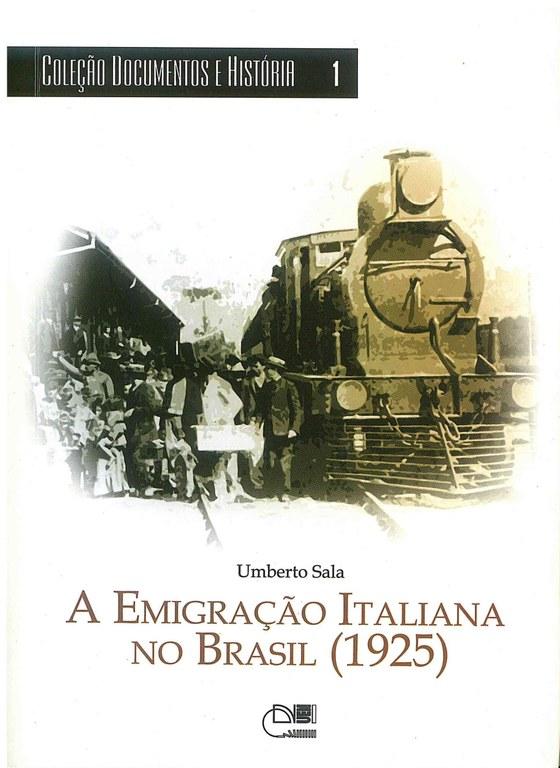 A emigração italiana no Brasil (1925)